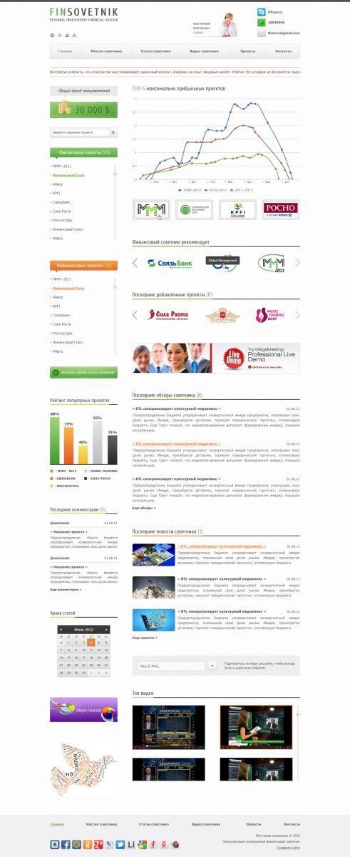 Sample business plan presentation home fc